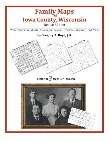 Family Maps of Iowa County, Wisconsin (County, Iowa Wisconsin)