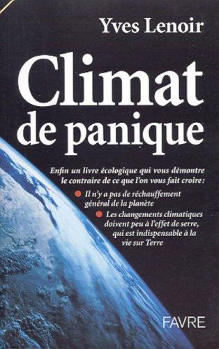 Climat de panique