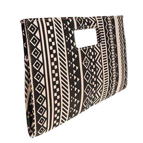 Baoblaze Taschen Umschläge Clutch Kleine Damen Designer Handtaschen Frauen Telefon Paket Geldbeutel (Umschlag-geldbeutel Clutch)