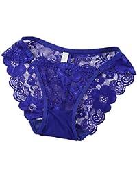 DEELIN TentacióN Sexy De Encaje SúPer Transparente Sexy Cintura Baja  Comercio Exterior De Gran TamañO Delgada Ropa Interior De… 37b892838c67
