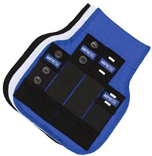 Cintura Estensibile per la gravidanza | Fascia premaman per pantaloni e gonne da adeguare alla gravidanza| 4 cinturini elasticizzati e 3 fascette in tessuto