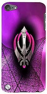 PrintVisa Religious Guru Nanak Case Cover for Apple iPod Touch 5