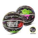 Optimum Pallone da basket, unisex, Street, Multi-Colour