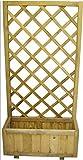 Pflanztrog Raumteiler Holz Euro Eco C/Panel cm. 75x 30x H150Art. 6107505