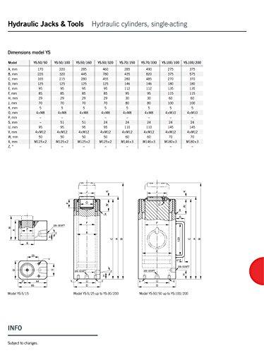Yale AMZ1023454universale cilindro, ictus, YS100/100, 100.0T, 100mm