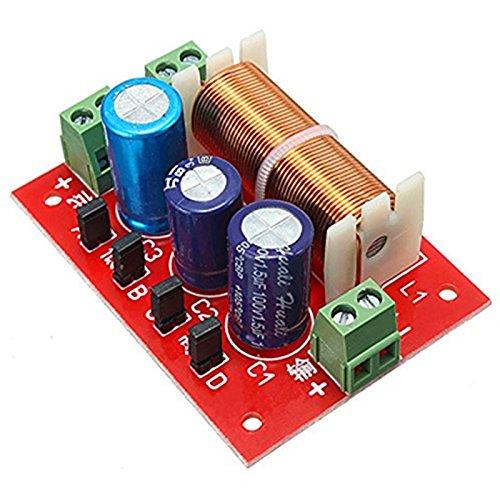 Ils - YLY-2088 400W Ajustable de 2 Maneras Crossover 2 Filtros Unidad de Altavoz de Audio Divisor de frecuencia Completa Gama de Agudos Bass