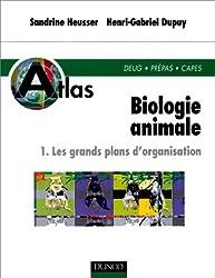 Atlas de biologie animale, tome 1. Les grands plans d'organisation