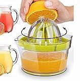 Multi Citrus Entsafter/Multi-Size-Reibahlen/Orange, Zitrone Und Limettensaft Squeezer - Manuelle...