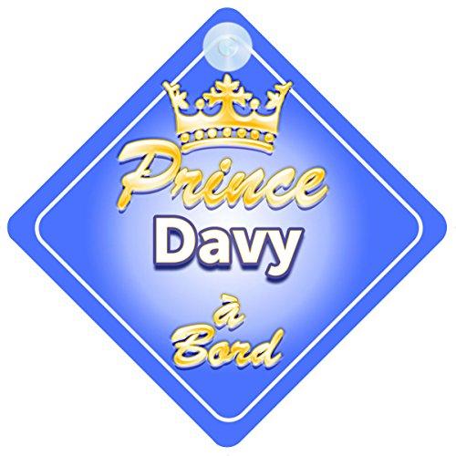 Personnalisé Bébé à Bord Voiture Signe ~ Nanny /& grand-père de princesse rose neuf!!