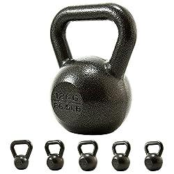 PROIRON Gusseisen Kettlebell 8kg Gewicht für Home Gym Fitness Gewicht Training