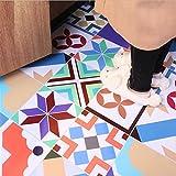 BKPH Restaurant Bodenaufkleber Küche Boden Renovierung Wohnzimmer Dekoration Wandaufkleber Balkon Wasserdichte Fliesen Fliesentapete, B