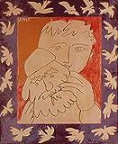 Artland Qualitätsbilder I Fine-Art Kunstdruck Wandbild Gemälde auf Holz - Größe 39 x 49 cm - Picasso Neujahr Menschen Mann D1GF