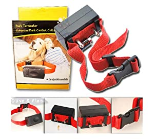 Anti Bark Static Shock Dog Training Collar with Adjustable Sensitivity Control *KEEP YOUR NEIGHBOURS HAPPY!* from Mammoth XT Supplements