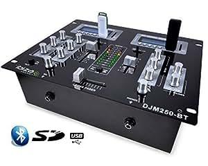 Table de mixage 2 canaux usb sd bluethooth instruments de musique - Table de mixage bluetooth ...