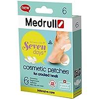 Medrull Fußpflege Pflaster Set CRACKED HEELS Rissige Fersen Fusspflaster mit Papain 6 Stück preisvergleich bei billige-tabletten.eu