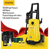 Tech TrendZ PROFFIX 1450 Watts 1750 Psi (120 Bar) High Pressure Car Washer With Fully Loaded Accessories