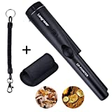 Longruner Pinpointer Metal Detector, Treasure Hunting Tool Buzzer Vibrate Portable Pin Pointer