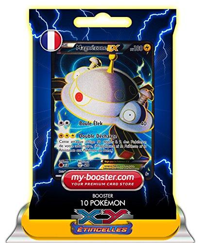 MAGNEZONE EX 101/106 Full Art 180PV XY 2 Etincelles - Booster de 10 cartes Pokemon francaises my-booster