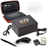 Accessori 3DSXL, Kit di Orzly per Nintendo 3DS XL e NEW 3DS XL (Confezione include: Caricabatterie Auto / Cavo di ricarica USB / Custodia per Console / Custodie per Cartucce e molto altro... (vedi descrizione) immagine
