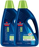 Bissell Wash & Protect Pet Carpet Shampoo Double Concentrated Formula (2 x 1.5L Bottle, Scotchguard)
