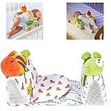 LYHONG Infantil Bebé Bebé Almohada antivuelco Posicionador del sueño Evitar Cabeza Plana Animal Impreso Cojín de sueño
