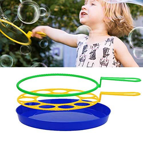 Bubble Maker Zauberstäbe Set für Kinder Erwachsene - Big Bubbles Wand Kreative lustige Bubbles Maker, Jumbo bunte Bubble Wand Spielzeug-Set für Outdoor-Spiel & Geburtstagsfeier & Spiele (3 PCS)