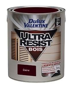 DULUX VALENTINE VAL.BOIS ULTRA RESIST.0.5L EBENE