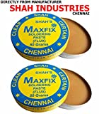 CLEANMAX Maxfix Soldering Paste (Flux) -Pack Of 2- 50g