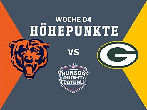 4. Woche: Höhepunkte: Bears gegen Packers (14-35)