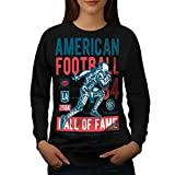 américain Football sport Femme Sweat-shirt | Wellcoda