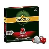 Jacobs Kaffeekapseln Lungo Classico, Intensität 6 von 12, 200 Nespresso®* kompatible Kapseln, 10 x 20...