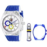 Technomarine Italy Cruise Tribute to Soccer Chronograph Stainless Steel Mens Watch Silver Dial 114023E