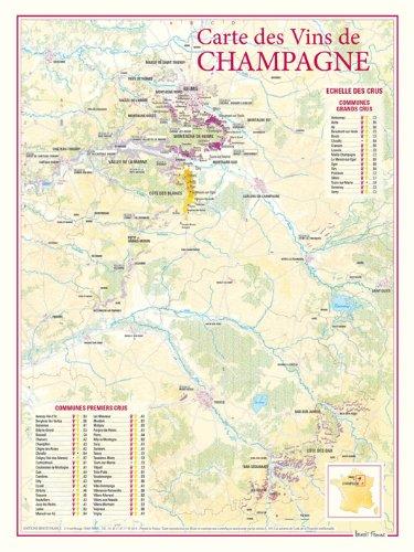 Carte des vins de Champagne par Benoit France