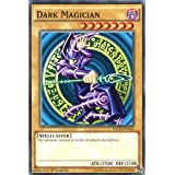 YuGiOh : YGLD-ENA03 1st Ed Dark Magician Common Card - ( Yu-Gi-Oh! Single Card )