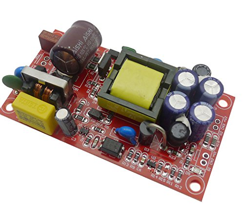 Aihasd 12V 1A Isolated Switching Power Supply Module / AC-DC Board/220V to 12V 5V Dual Output 12v Ac-modul
