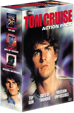 Tom Cruise-Action Pack (Top Gun, Tage des Donners, Mission: Impossible) [3 DVDs]