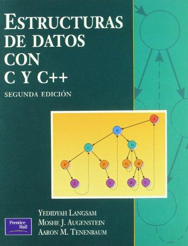Estructuras datos con C y C++ 2ED por Langsam