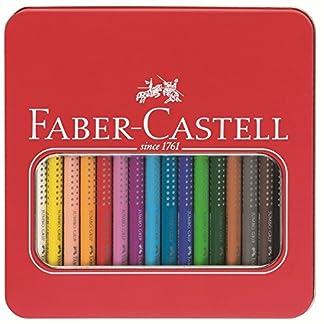 Faber Castell – Set de lápices de colores (en estuche metálico)