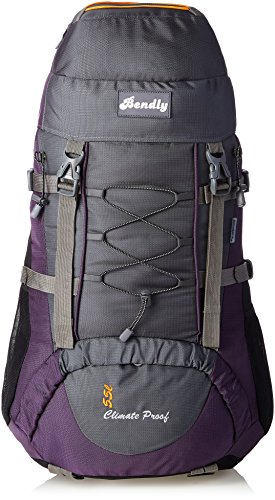 President Hulk Polyestyer 60 Liters Multi - Colour Hiking Bag  available at amazon for Rs.2169