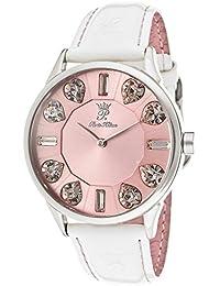 Paris Hilton PH13524MS - Reloj para mujeres, correa de cuero color rosa