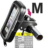 LKB29M Universal bis ca 4,7'/11,94cm Smartphone Fahrrad MTB Motorrad Schnellwechsler Handy Halterung zB.: Apple iPhone 7 6 6S SE, Samsung Galaxy S7 S6 A3 (2016), S4 ONE BUMPER.