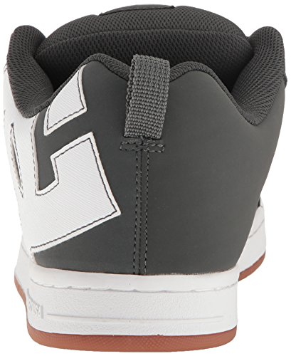 DC Shoes Court Graffik, Chaussures de skate homme Grey/Gum