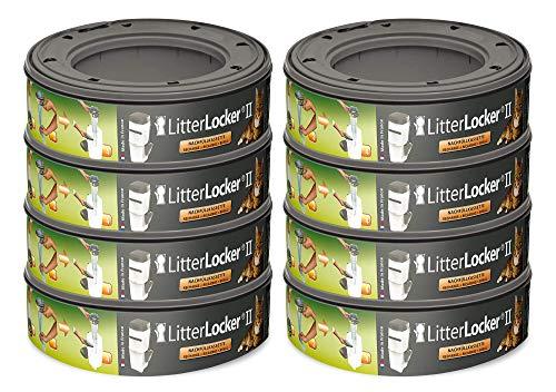 Litter Locker 2 Lot de 8 Cartouches de Recharge