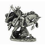 Estaño-Vikingo en caballo de la batalla