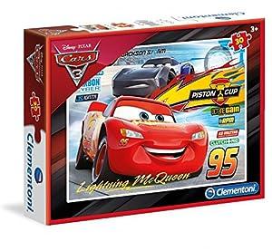 Cars- Puzzle 30 Piezas (Clementoni 08513)