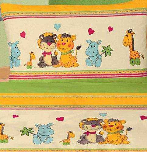 Zootiere – Kinderbettwäsche – Aminata Kids - 4