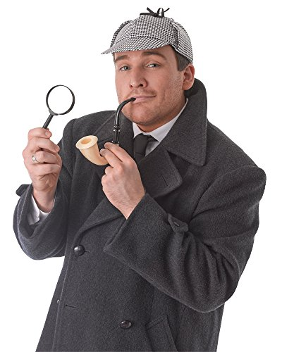 Bristol Novelties detective costume kit set di accessori