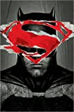 Poster Batman v Superman - Batman Teaser - preiswertes Plakat, XXL Wandposter