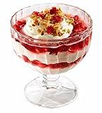 Topkapi Flamingo – 6 Stück Eisbecher, Dessertschale, Cocktail Gläser, Ice Cream Sundae