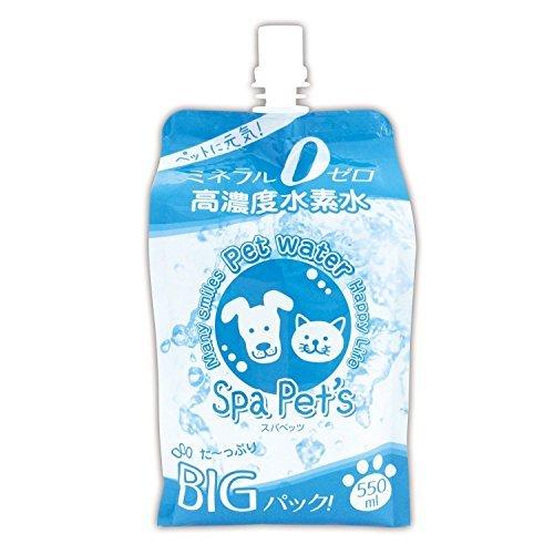 RO acqua ad alta concentrazione di acqua nano di idrogeno di minerale amichevole zero al corpo di Supapettsu pacchetto BIG 550ml 20 Set di ricetta brevetto animali da compagnia
